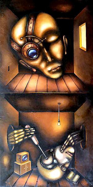 steampunk hoofd Eugene ivanov.jpg