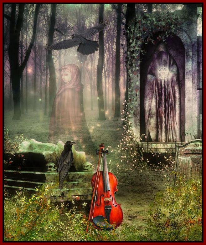 wicca hekserij spook kerkhof magere hein viool laatste lied.jpg