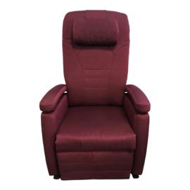 Tweedehands sta-op stoel van Fitform in bordeaux rood  - 16812069