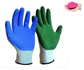 Stoffen handschoenen voor steunkousen, elastische kousen