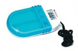 Pillendoos met akoestisch (geluid) en visueel alarm. Deze pillendoos met alarm heeft 2 vakken waarin u uw medicijnen kunt opbergen.