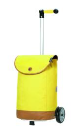 Lichte boodschappenwagen om te duwen of trekken, Unus Shopper Emil Geel