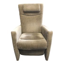 Tweedehands Prominent sta-op stoel met beige stoffen bekleding - 16806458