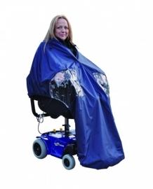 Cape, kleding voor elektrische rolstoel, Splash Power Cape - PR34029