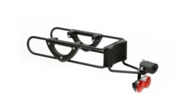 Pull Easy, in breedte verstelbare fietsbevestiger (ook E-bike) om boodschappenwagen te koppelen aan fiets