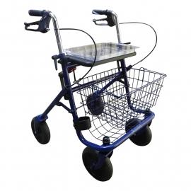 Standaard rollator met dienblad (als beste getest door Kassa) - Blauw