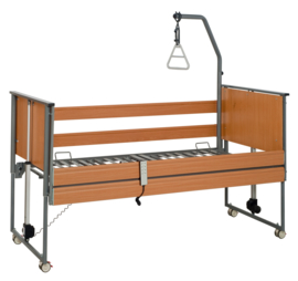 Hoog-laag bed, ziekenhuisbed 90 x 200 cm - Ecofit S met keuze uit kleuren en opties