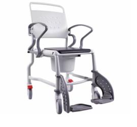 Douche-toiletstoel op wielen - R343.03.00