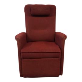 Tweedehands rode sta-op stoel op draaiplateau, van Easysit - 16808923