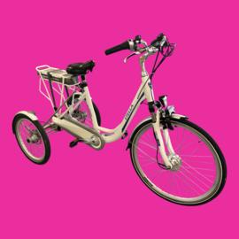 Tweedehands elektrische driewieler fiets, E-bike Stella Tours met 8 versnellingen - 16811485