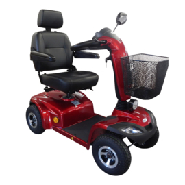 Comfortable vierwiel scootmobiel ST4D van Drive