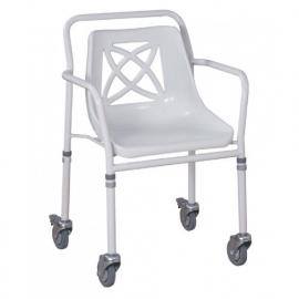 Douchestoel op wielen en kuipstoel – MW546B