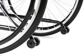 Anti-kiep wielen (voorkomt achterover vallen) voor rolstoel M1, M1Plus en M9