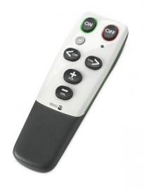 Universele afstandsbediening TV met grote knoppen voor ouderen en slechtzienden