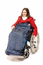 Rolstoel schootskleed, rolstoel beenzak - Wheely Cosy Luxe Fleece