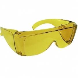 Overzetzonnebril, UV-shield 50, 54% lichtdoorlatend, gele bril (geschikt voor nachtblindheid) - 403007