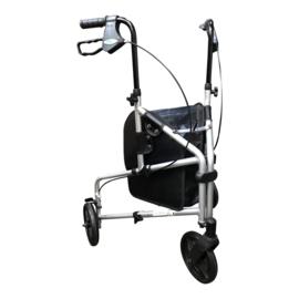 Tweedehands lichtgewicht 3-wiel rollator - 16807014