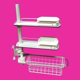 Tweedehands Pressalit carrousel, rekje voor zeep en shampoo van Pressalit  - 155191-K