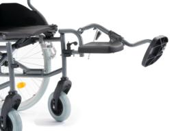 Comfort beensteunen voor rolstoel M5 en M6