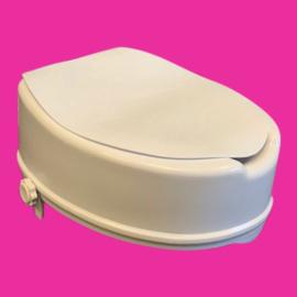 Tweedehands toiletverhoger met deksel van 15 cm - 16811352