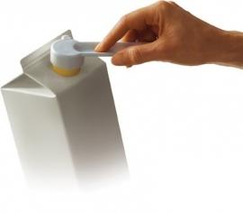 Opener voor melkpakken, opener voor schroefdoppen