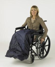 Schootskleed voor de rolstoel gevoerd, rolstoelkleding - Wheely Apron Deluxe