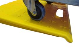 Draagbare drempelhulp met handvat om makkelijk te verplaatsen