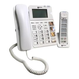 Tweedehands Geemarc telefoon met grote duidelijke toetsen en fototoetsen - 16805007
