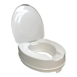 Tweedehands toiletverhoger van 10 cm met deksel - 1672651