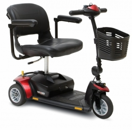 Opvouwbare scootmobiel, scootmobiel Pride Gogo Elite Traveller 3-wiel - MM1022