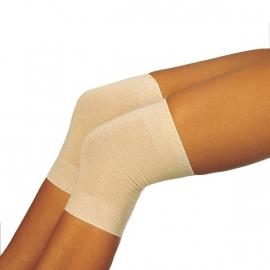 Wollen kniewarmers voor reuma in huidskleur (warmtekleding Peters Angora) - 21227