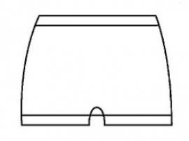 Wollen onderbroek zonder pijp (50% angora, standaard kwaliteit, Peters Angora) - 10078