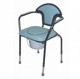 Toiletstoel in hoogte verstelbaar, groen - PR50547