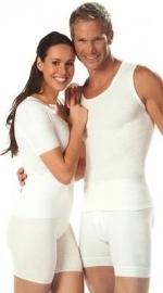 Angora herenhemd zonder mouw Classiclijn - 10112 (warmtekleding/onderkleding Peters Angora)