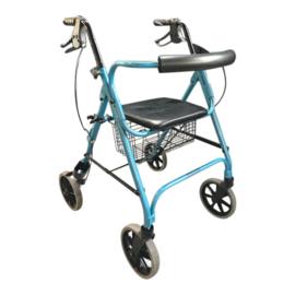 Tweedehands lichtgewicht rollator Move Light in de kleur blauw - 16804219
