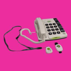 Tweedehands telefoon met alarmknop en grote toetsen voor slechtzienden - 16799392