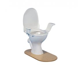 Nobi toiletzitting Classic met armsteunen en deksel