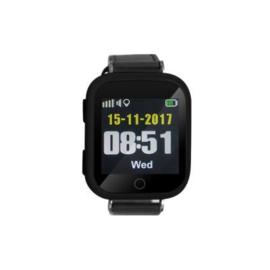 Horloge met alarmknop met GPS voor binnen en buiten, Wuzzi Alert Watch Orion II