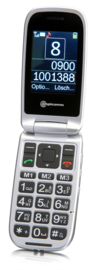 Mobiele telefoon voor slechthorenden met noodknop, Amplicomms PowerTel 7510-3G