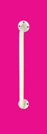 Tweedehands witte wandbeugel 30,5 cm voor douche of toilet - 16805298