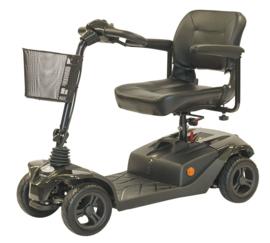 Opvouwbare scootmobiel ST3 met vering en zachte PU-wielen