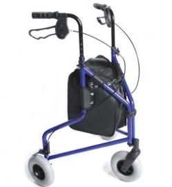 Lichtgewicht aluminium driewiel rollator - MW240L