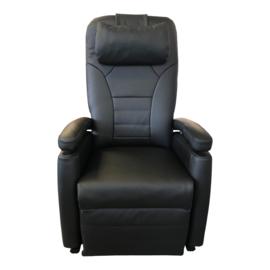 Tweedehands zwart leren sta-op stoel van Fitform, Vario 570 - STR-1388