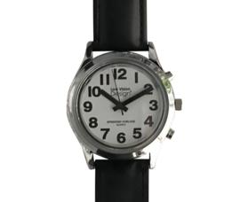 Nederlands sprekend horloge voor heren en dames met alarmfunctie