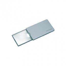 Creditcard loep met LED-verlichting, de creditcard loep met LED-verlichting EasyPocket van Eschenbach – 152111