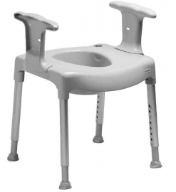 Overtoiletstoel, toiletverhoger over de toilet - ALM81702020