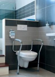 Toiletsteun, toiletrek in hoogte verstelbaar Liddy
