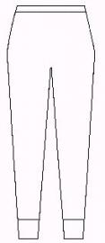 Lange wollen angora onderbroek (40% angora ondergoed Peters Angora) - 60001