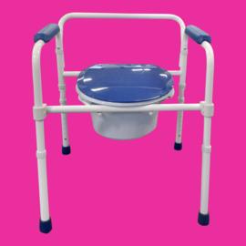 Tweedehands toiletstoel, toiletverhoger en toiletsteun, 3-in-1 - 166698
