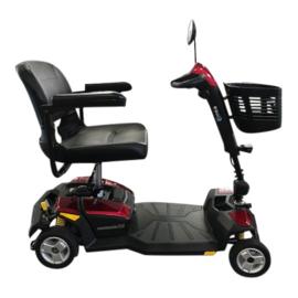 Tweedehands opvouwbare 4-wiel scootmobiel Avantgarde ET-2, rood - 16811994